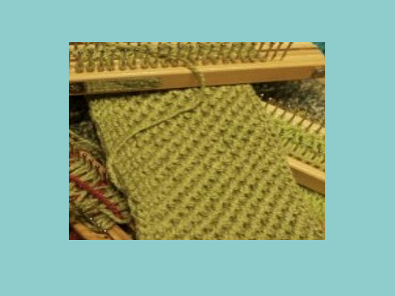 Criss Cross Stitch - Loom Knit Central
