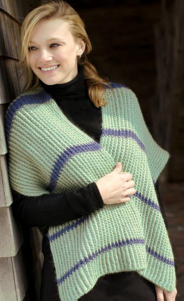 Mystic Shawl Loom Knit