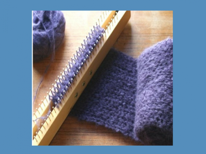 New To Double Knit Loom Knitting Start Here Loom Knit