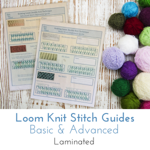 Loom Knitting Stitch Guide 2 : Brioche Stitch Double Knit Loom - Loom Knit Central