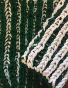 Brioche double-knit loom