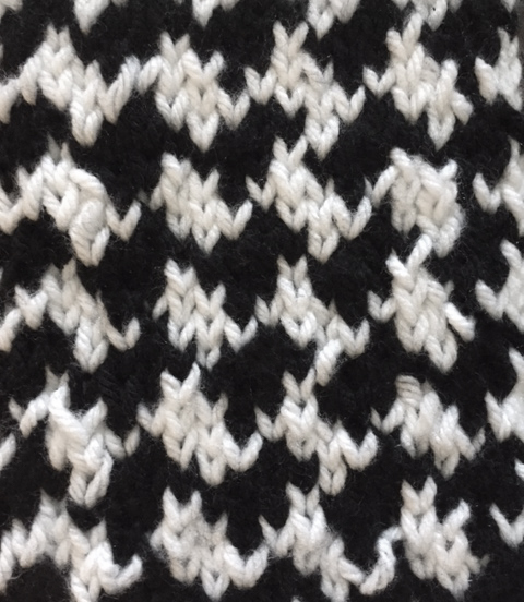Shhh...No One Needs To Know How Easy This Houndstooth Pattern ...