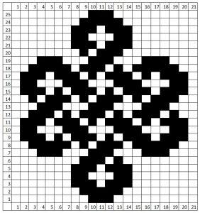 knit celtic graph