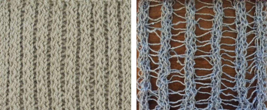Same Stitch, Different Look! - Loom Knit Central