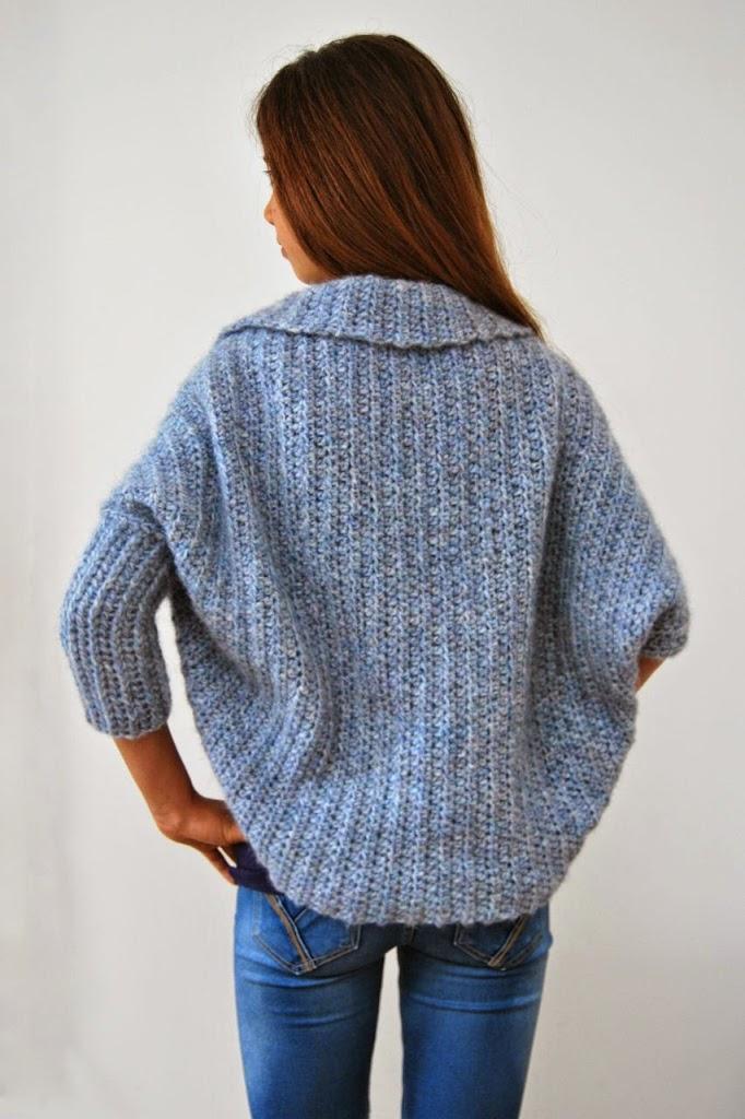 Basic Shrug Pattern - How Lovely! - Loom Knit Central