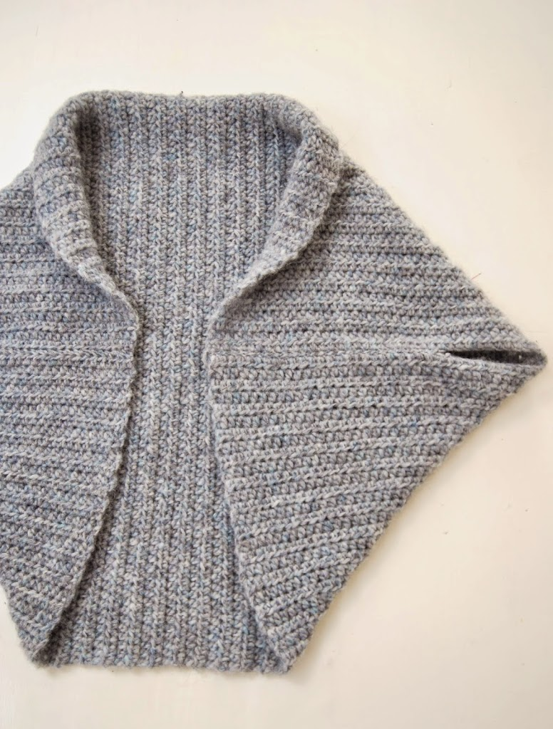 Basic Shrug Pattern – How Lovely! - Loom Knit Central