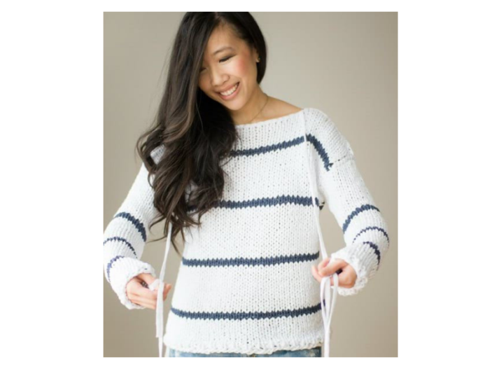 Sea Breeze Knit Sweater Loom Knit Central